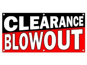 Daily Surveillance Clearance Blowout Sale